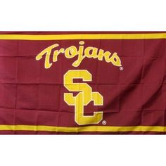 USC Trojans SC Flag