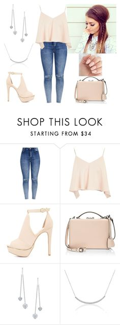 """""""Too glam to give a damn."""" by paoladouka on Polyvore featuring Topshop, Charlotte Russe, Mark Cross and Amanda Rose Collection"""