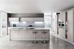 Kitchen Modern Decor. Inspiring Kitchen Design with Surprising Architecture and Furnishing  Marvelous White Gray Decorated With Modern Decoration Ideas Used Small Variety of Elegant Designs Arranged a Luxury
