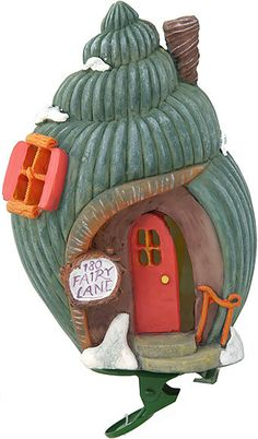Shell Fairy House Clip on Light Cover  Price $14.95