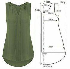 Clothing Patterns, Sewing Patterns, Costura Fashion, Coin Couture, Dress Making Patterns, Nursing Clothes, Fashion Sewing, Mode Style, Dressmaking