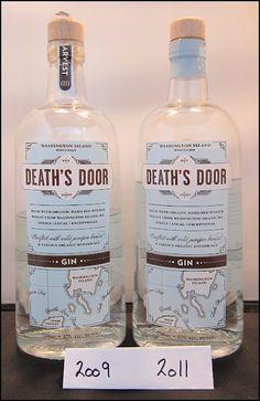 Death's Door Gin: 2009 vs. 2011