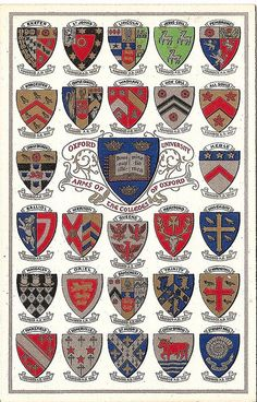 Coats of Arms of Oxford University Colleges | Flickr - Photo Sharing!