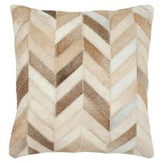 Joss and Main cowhide pillow