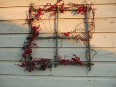 windowframe wreath