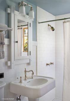 12 idee per decorare un bagno in stile vintage (fotogallery)