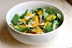 Kale Salad With Golden Beets Green Garlic And A Lime Vinaigrette by Brooklyn Supper