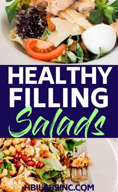 15 Healthy Salads that Won't Leave you Hungry - Natural and Organic - - Salat Rezepte - Healthy Recipes Clean Eating Tips, Clean Eating Snacks, Healthy Eating, Eating Habits, Healthy Salad Recipes, Healthy Snacks, Lunch Recipes, Stomach Fat Burning Foods, Nutrition World