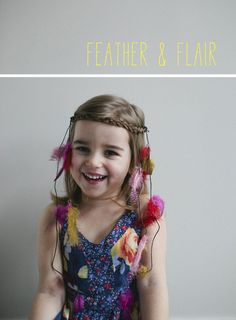 braided leather headdress | A Subtle Revelry ... perfect for a little indian princess costume
