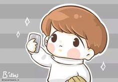 Baekhyun cute chibi fanart exo