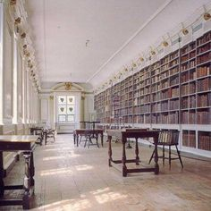 """History coming to life in """"the most beautiful room in England"""" at Lincoln Cathedral's Medieval and Wren Libraries. Beautiful Library, Beautiful Space, Beautiful Homes, Library Ideas, Library Books, Lincoln England, Lincoln Cathedral, Gothic Buildings, Home Libraries"""