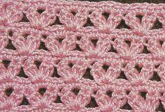 Patrón #1279: Punto Abierto a Crochet