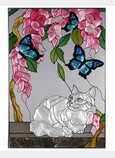 Kitty blossom butterfly