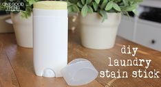 DIY laundry stain stick