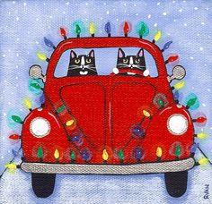 Kitten Merry Christmas