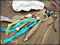 Hippie Necklace  Buddha Necklace  Yoga Necklace by HandcraftedYoga, $40.00