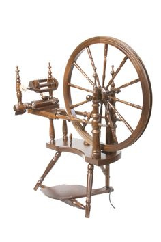 The Polonaise Spinning Wheel - Walnut £480.00