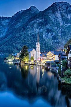 Hallstatt, Austria #travel #destination #honeymoon