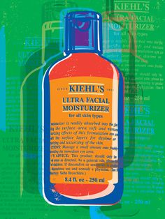 Kiehl's lore has it that Andy Warhol was a regular patron to our store.