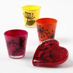 Glas dekorastion med glass Ceramic