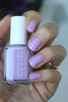 Essie Soft Purples : Under Where?, Play Date, Dress Call, Lilacism, Sittin' Pretty, Bond With Whomever, Full Steam Ahead, & Groom Service | Essie Envy