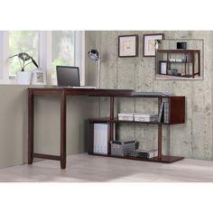 Brayden Studio Browder Computer Desk with Shelf & Reviews | AllModern