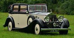 1937 Rolls Royce 25/30 Salmons Tickford Cabriolet.