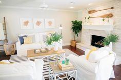 The Green Mile House | Season 3 | Fixer Upper | Magnolia Market | Living Room | Chip & Joanna Gaines | Waco, TX