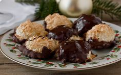 Homemade Gift Recipe: Coconut Macaroons Dipped in Chocolate Recipes from The Kitchn | The Kitchn