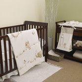 Found it at Wayfair - Sleepy Safari 4 Piece Crib Bedding Set