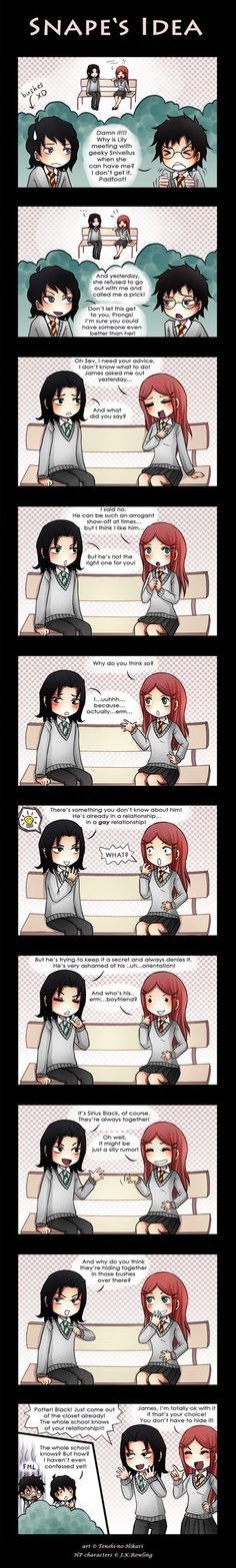 HP - Snape's idea by Tenshi-no-Hikari on DeviantArt