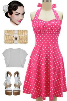 RESTOCKED! Plus and Regular sizes in our Bubble Gum Pink Polka Dot Betty Halter Sun Dress! Only $34-$35 with FREE U.S. shipping! Buy this color and 16 others here at Le Bomb Shop: http://lebombshop.net/search?type=product&q=betty&search-button.x=0&search-button.y=0