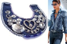 handmade jean jewelry tutorials - Google Search