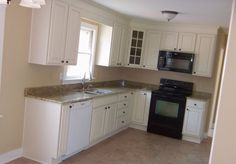 Construct Small L Shaped Kitchen Designs Layouts label Kitchen Design