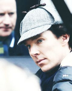 First day of filming in London, April 10, 2013.