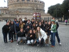 Castel St Angelo, Rome, Italy