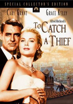 To Catch A Thief (1955) When a reformed jewel thief is suspected of returning to his former occupation, he must ferret out the real thief in order to prove his innocence.  Cary Grant, Grace Kelly, Jessie Royce Landis...17b