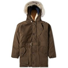 Buy the Nigel Cabourn Antarctic Parka in Army from leading mens fashion retailer END. - only Fast shipping on all latest Nigel Cabourn products Nigel Cabourn, Body Warmer, 60th Anniversary, Extreme Weather, Vintage Metal, Workwear, Canada Goose Jackets, Parka, Celebration