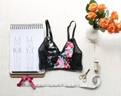 Longline Bralette Sewing Pattern Ohhh Lulu