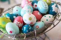 Darling Easter eggs.