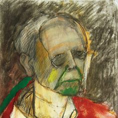Self-Portrait (Red), 1996 William Utermohlen