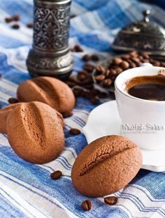 Kahve Çekirdeği Kurabiye (Türk Kahveli Kurabiye) - Tarifin püf noktaları, binlerce yemek tarifi ve daha fazlası...