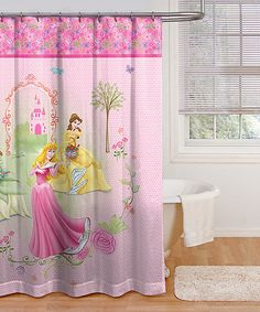 Another great find on #zulily! Disney Princess Microfiber Shower Curtain #zulilyfinds