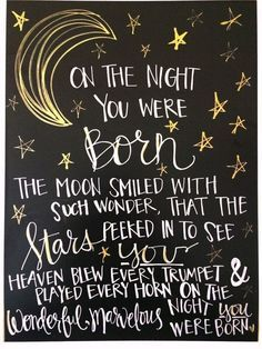 On the night you were born » Daily-LifeQuotes
