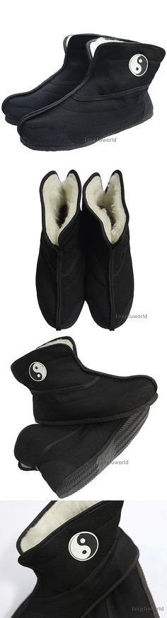 Shoes and Footwear 73989: Wudang Taoist Winter Boots Tai Chi Kung Fu Sneakers Martial Arts Sports Shoes -> BUY IT NOW ONLY: $44.1 on eBay!