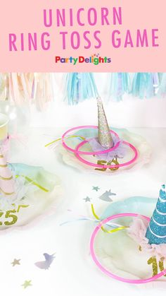 Unicorn ring toss game