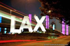 LAX Los Angeles International Airport  CA. This is where it all starts