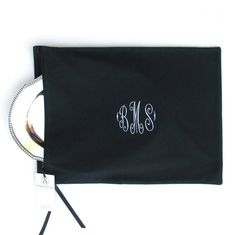"""Anti Tarnish Bag 12"""" x 16"""" for Silver Storage, Monogrammed Sterling Silver Storage Bag, Zippered, Holloware, Platter, European Traditional Collection.  On Etsy.  3"""