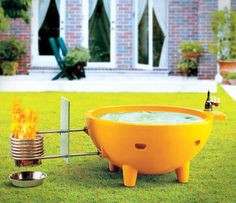 Don't feel like taking care of an actual hot tub with all the chlorine and cleaning you have to do an a regular basis? Sick of shelling out money each month to power a hot tub you rarely use? The wood...