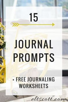"""This month, we've already talked about how to set up a journal and why journaling can help overcome fear, resistance, and perfectionism. However, if you're still asking yourself, """"But what do I write about in my journal?"""" we're going to get you started with a handful of prompts you can reach for on days you're feeling stuck. Before we do though, remember that with journaling, you can truly include anything you want. I know I say that often, but I really mean it. When you journal, you can…"""